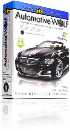 Automotive Wolf Car Maintenance Software Box