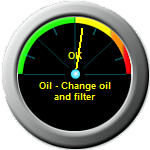 oil change gauge